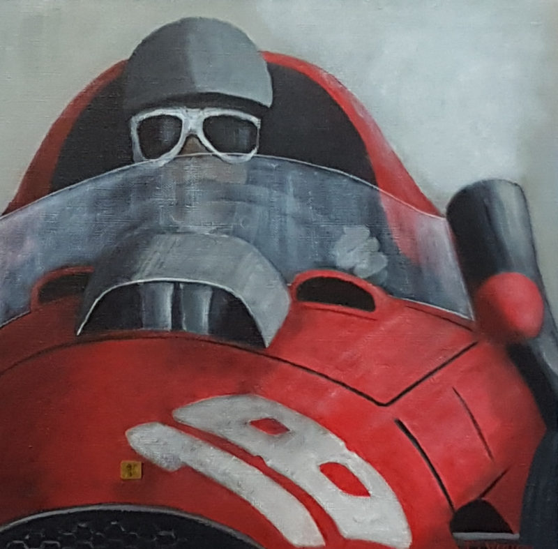 Ferrari F500, 40x40