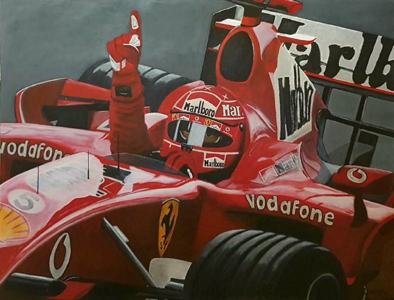 Ferrari Schumacher, 116×89