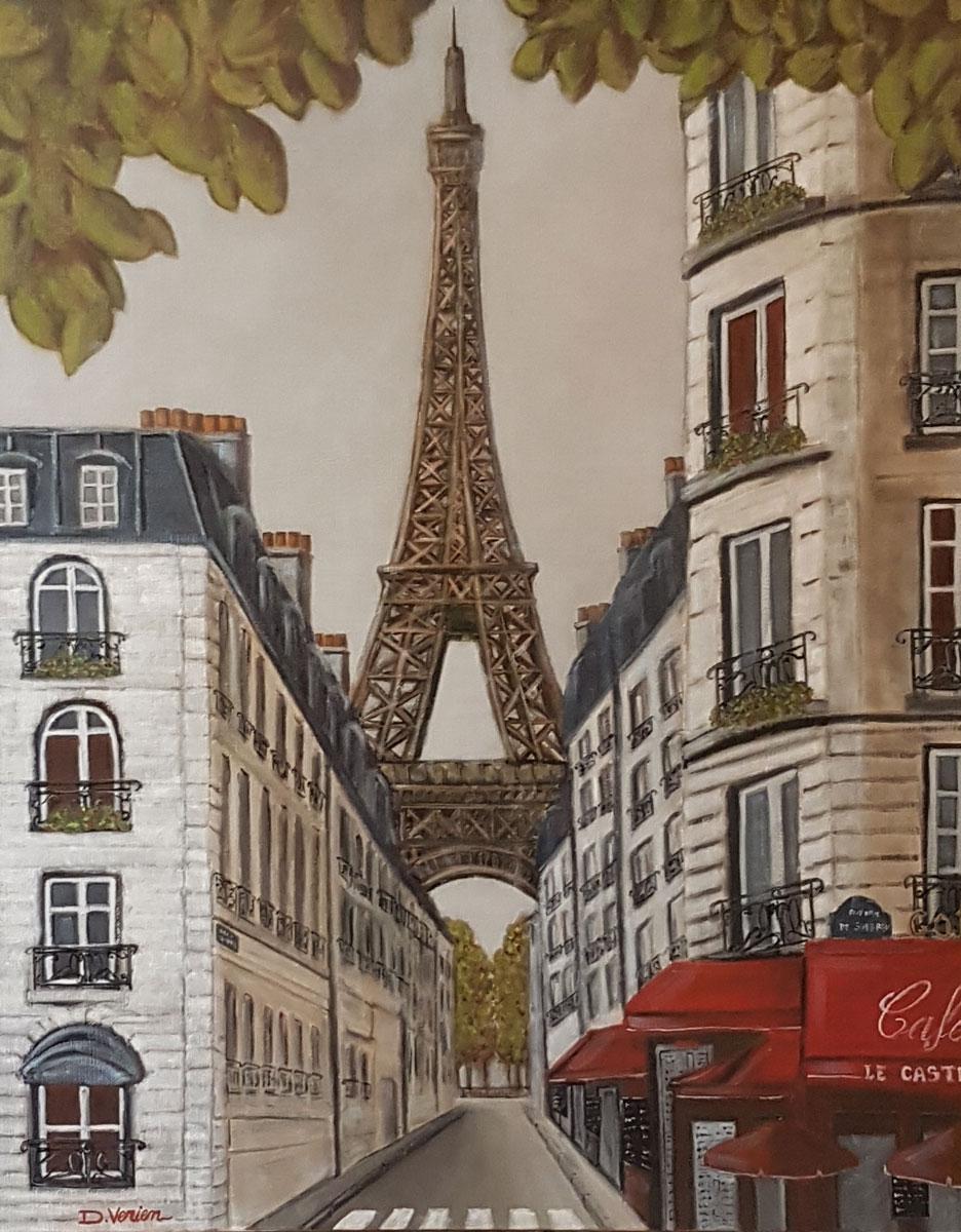 Brasserie Le Castel -92x73