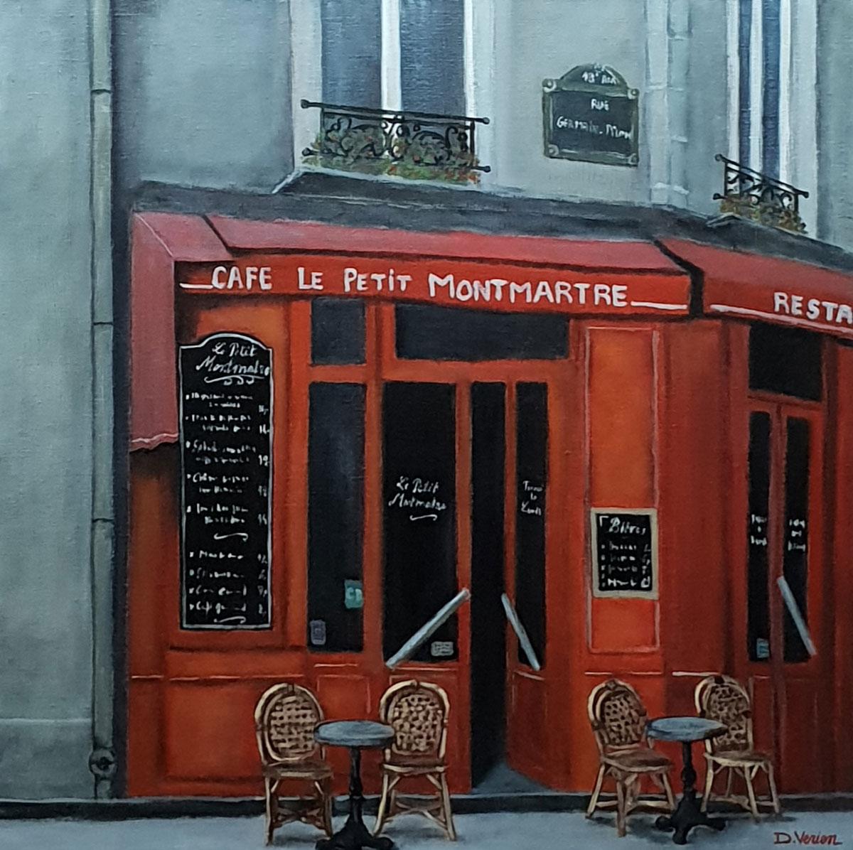 Le petit Montmartre -60x60