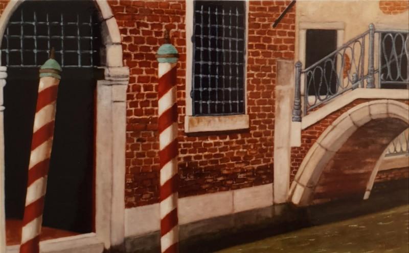 Pont Canal Venise 65x38
