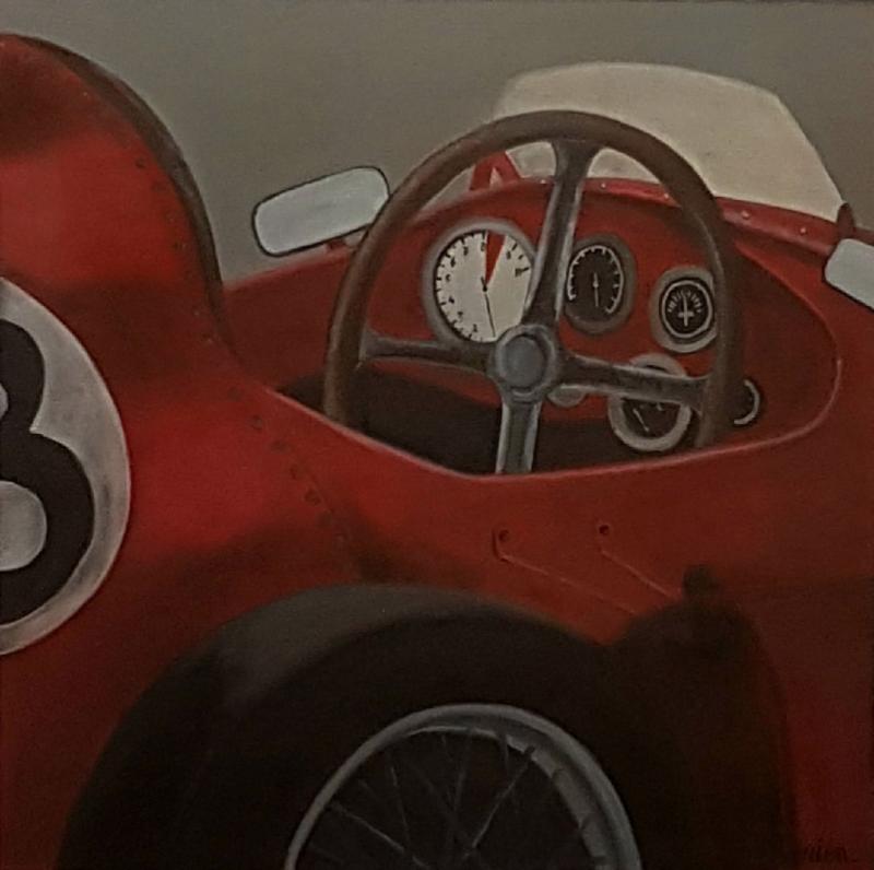 Tableau de bord Ferrari F500, 60×60