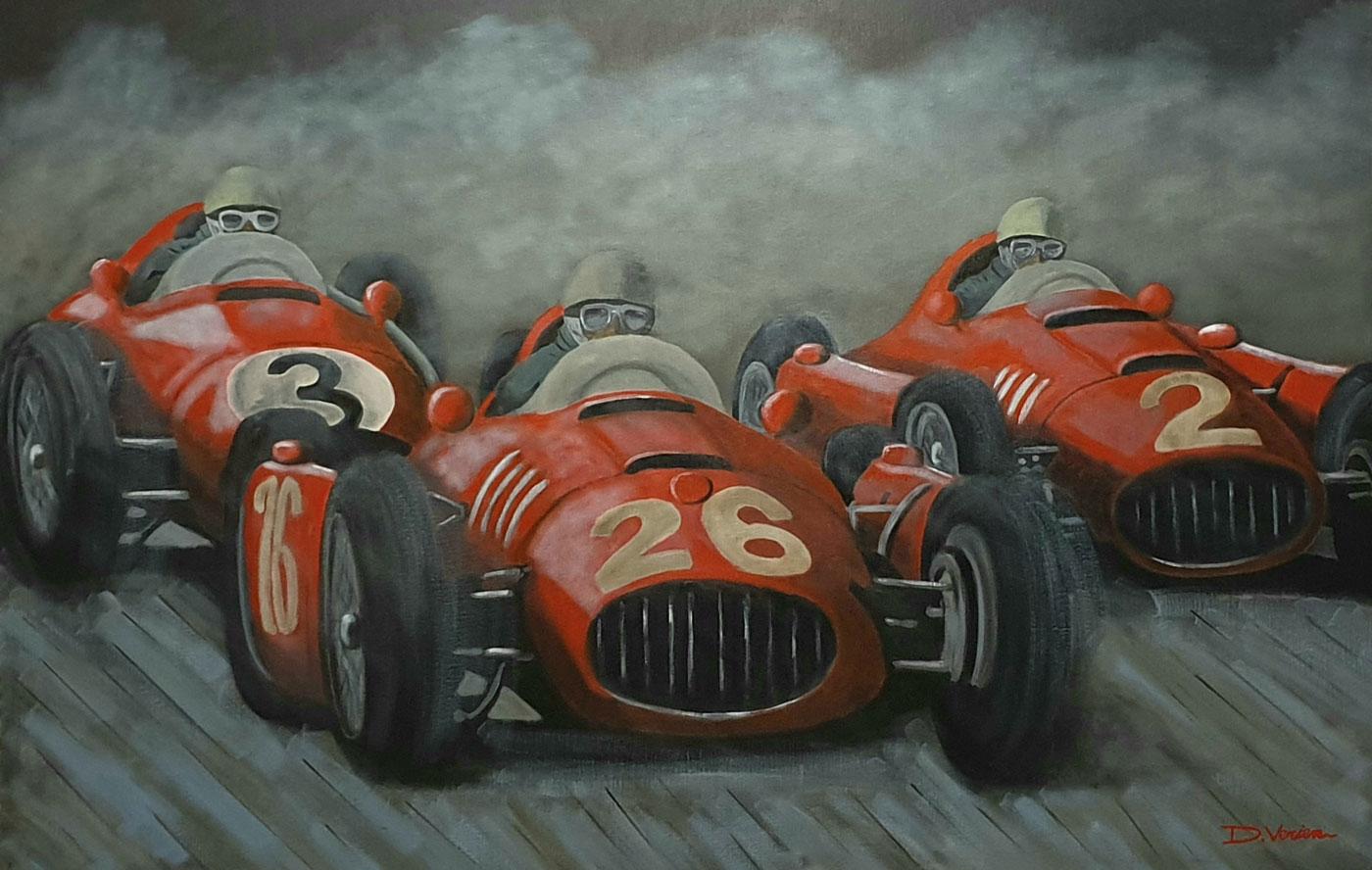 FerrariD50 et FerrariF500, 1958, 146x97