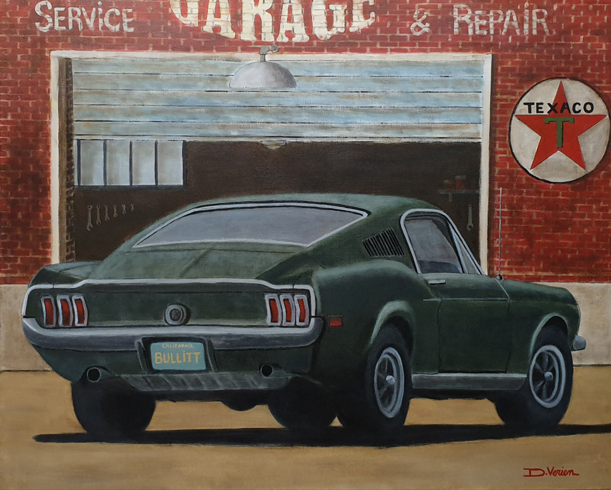 Ford Mustang GT390 Fastback Steeve Mc Queen Bullit