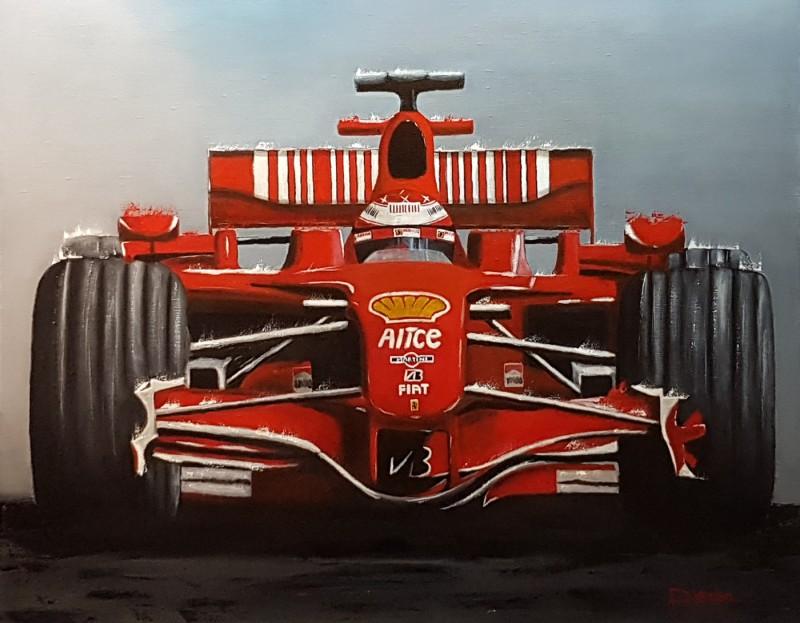 Schumacher Ferrari F1, 92×73