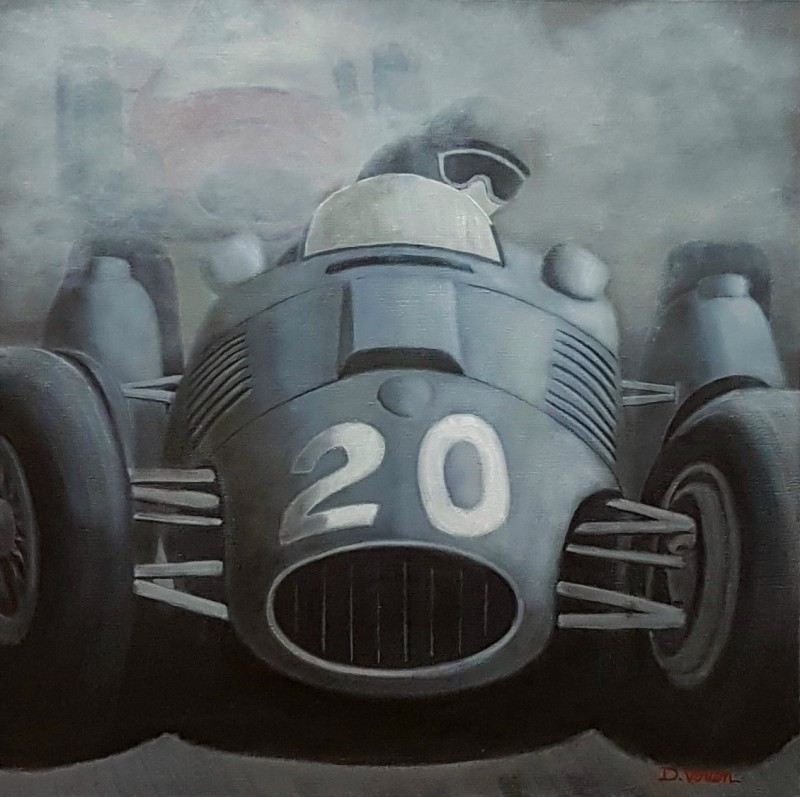 Ferrari D50 - 1952, 60×60