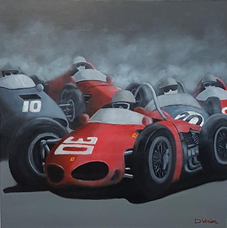 Ferrari sharknose 1961, 60x60