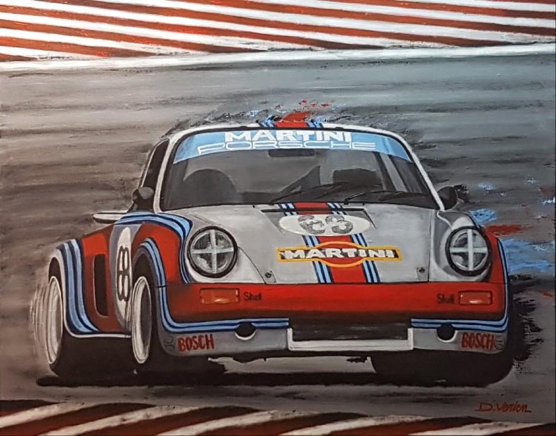 Porsche RSR 1973, 92×73