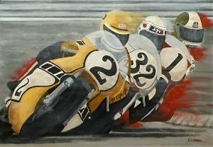 200 miles Imola 1978, 65x46