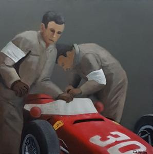 Ferrari Sharknose, 60x60