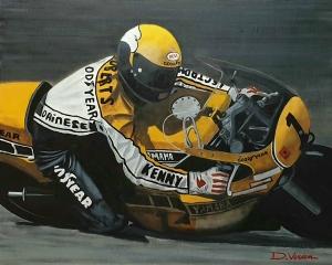 Kenny Roberts 81x65