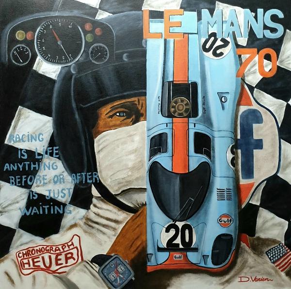 Le Mans 1970 Steve Mc Queen Porsche 917