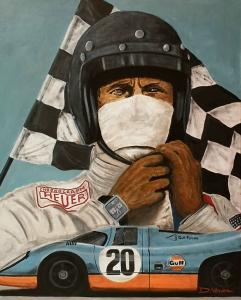 Steve Mc Queen - Le Mans -1970,  81x100