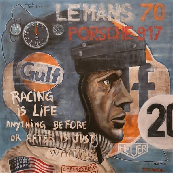 Steve Mc Queen Le Mans 1970