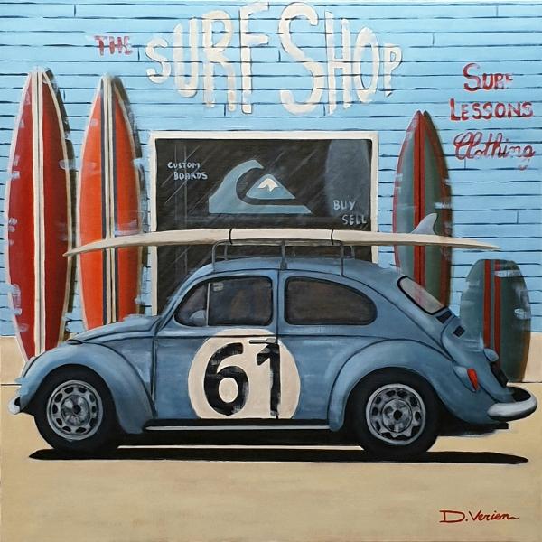 Volkswagen Coccinelle 1964 Surf