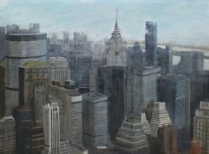 Manathan Chrysler Building 130x97