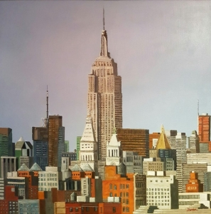 Empire State Building 1 New York 100x100