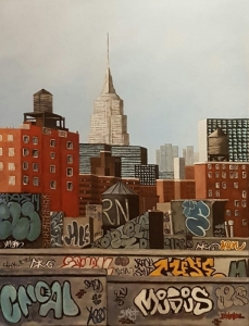 Empire State Building 3 New York 116x89