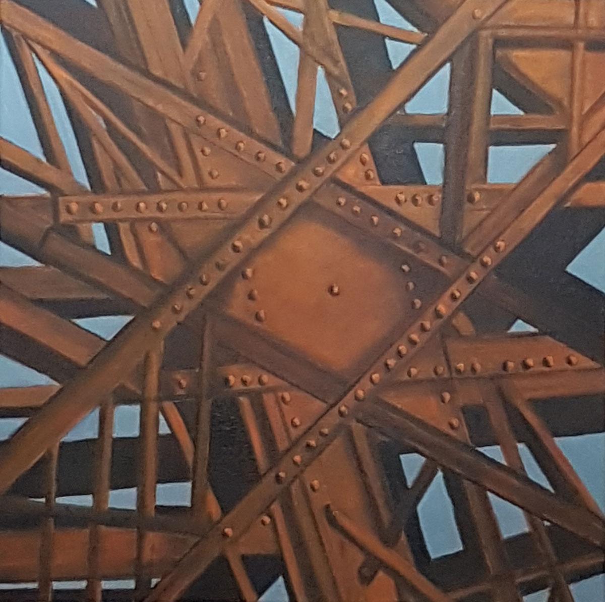 Tour Eiffel détail -60x60