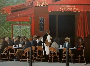Brasserie de l'isle Saint Louis -130x97