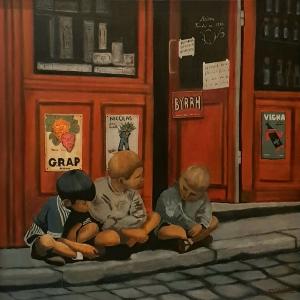 Gamins de Paris 1957 -80x80