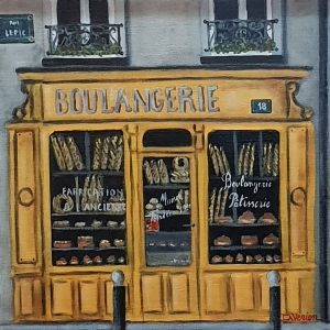 La boutique jaune -40x40