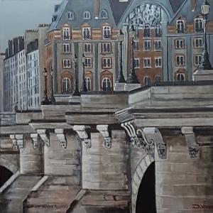 Le pont Neuf Paris -80x80