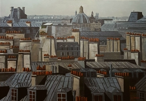 Toits 6 de Paris -116x89