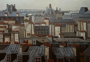 Toits 6 de Paris -116x89