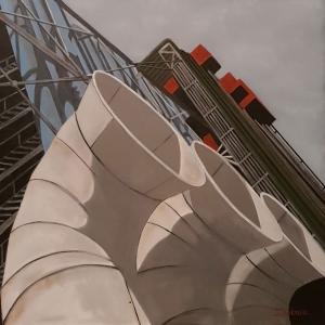 Tuyaux de Beaubourg 2 -80x80