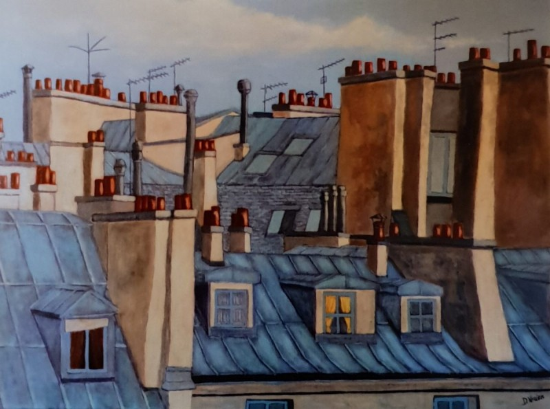 toits 1 paris 65x46