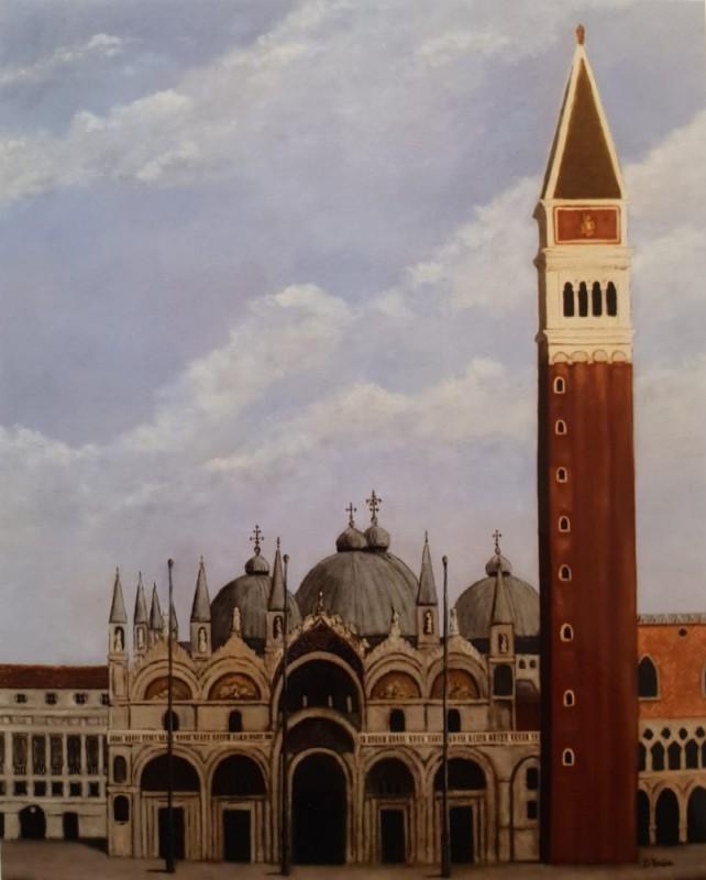 Basilique Saint Marc Venise 60x73